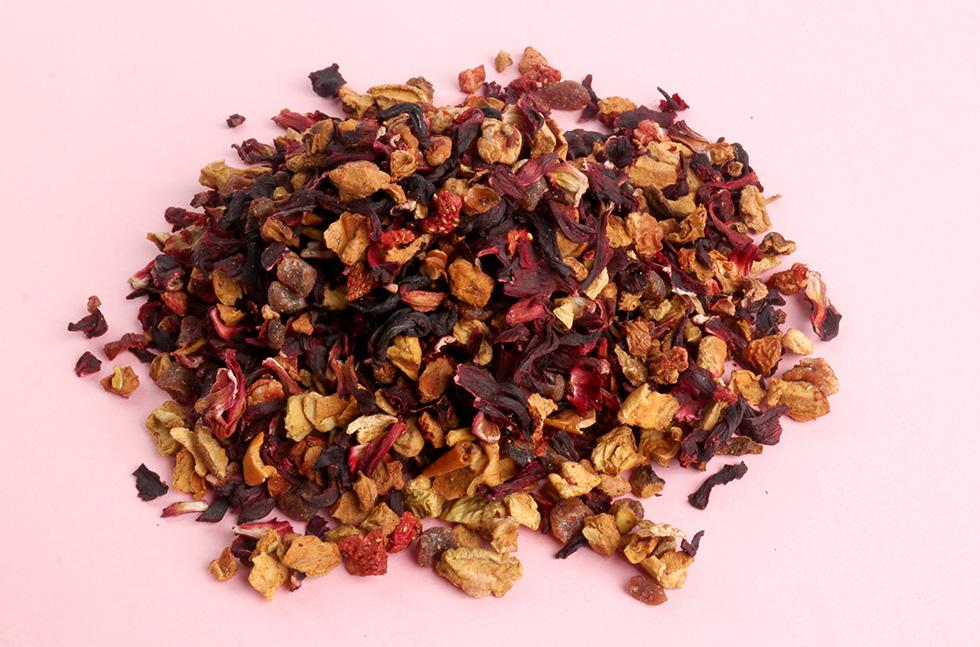 秋冬热饮配方:热水果茶怎么去除苦涩味?这款花果茶可以帮到你